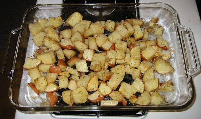 Garlic Roasted Potatoes Recipe File Cooking For Engineers