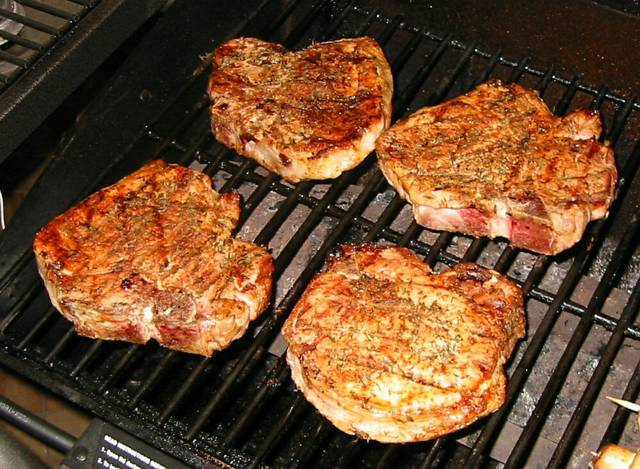 Grilled Pork Loin Ribeye Chops Recipes