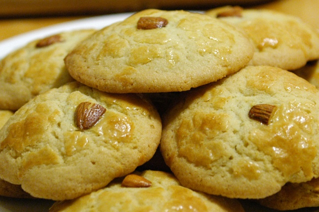 Chinese almond cookies recipe easy