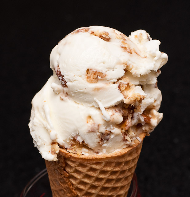 Butter Pecan Brandy Ice Cream Recipe — Dishmaps